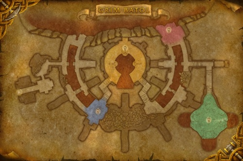 Grim Batol Map