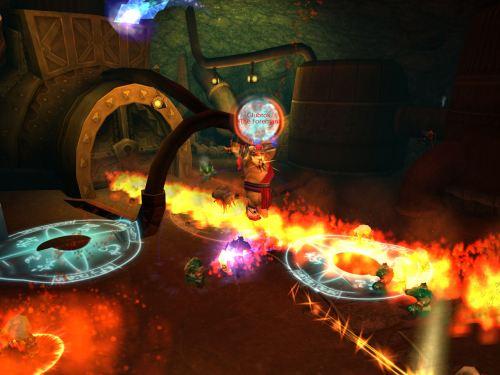 Glubtok and his fun flames