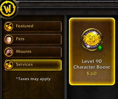 The alleged price of level 90