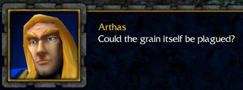 Yes, dammit, it is the grain!