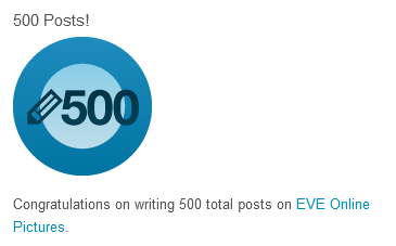500! It's a round number!