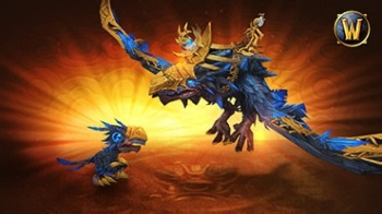 Dread Raven mount and hatching pet