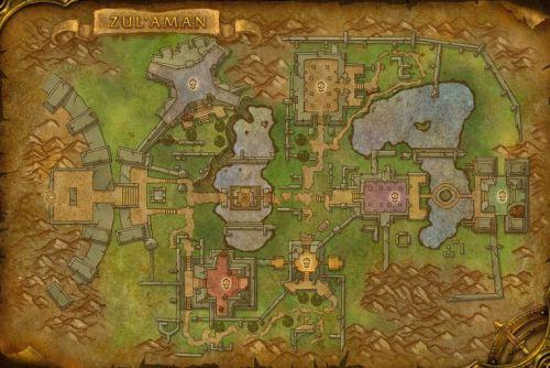 Zul-Aman - The Map