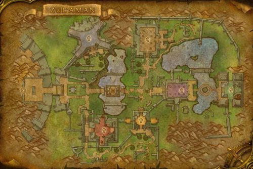 Zul-Aman - The Map
