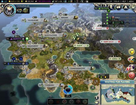 My empire, turn 239