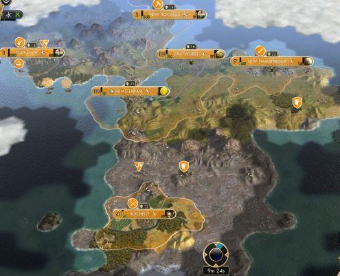 Slowly expanding empire