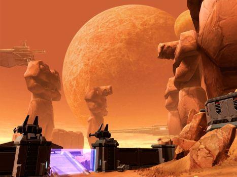 Korriban - Home to Sith U.