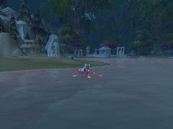 Waterbug run!