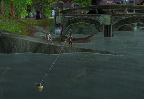 Fishing for Darkshore Grouper in Lor'danel