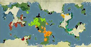 My World Map - Turn 470