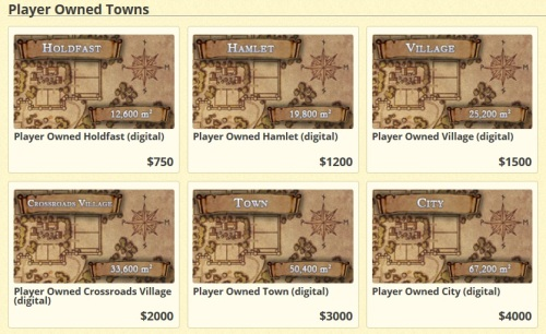 Your Town Options