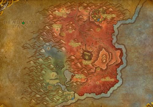 The new Blasted Lands