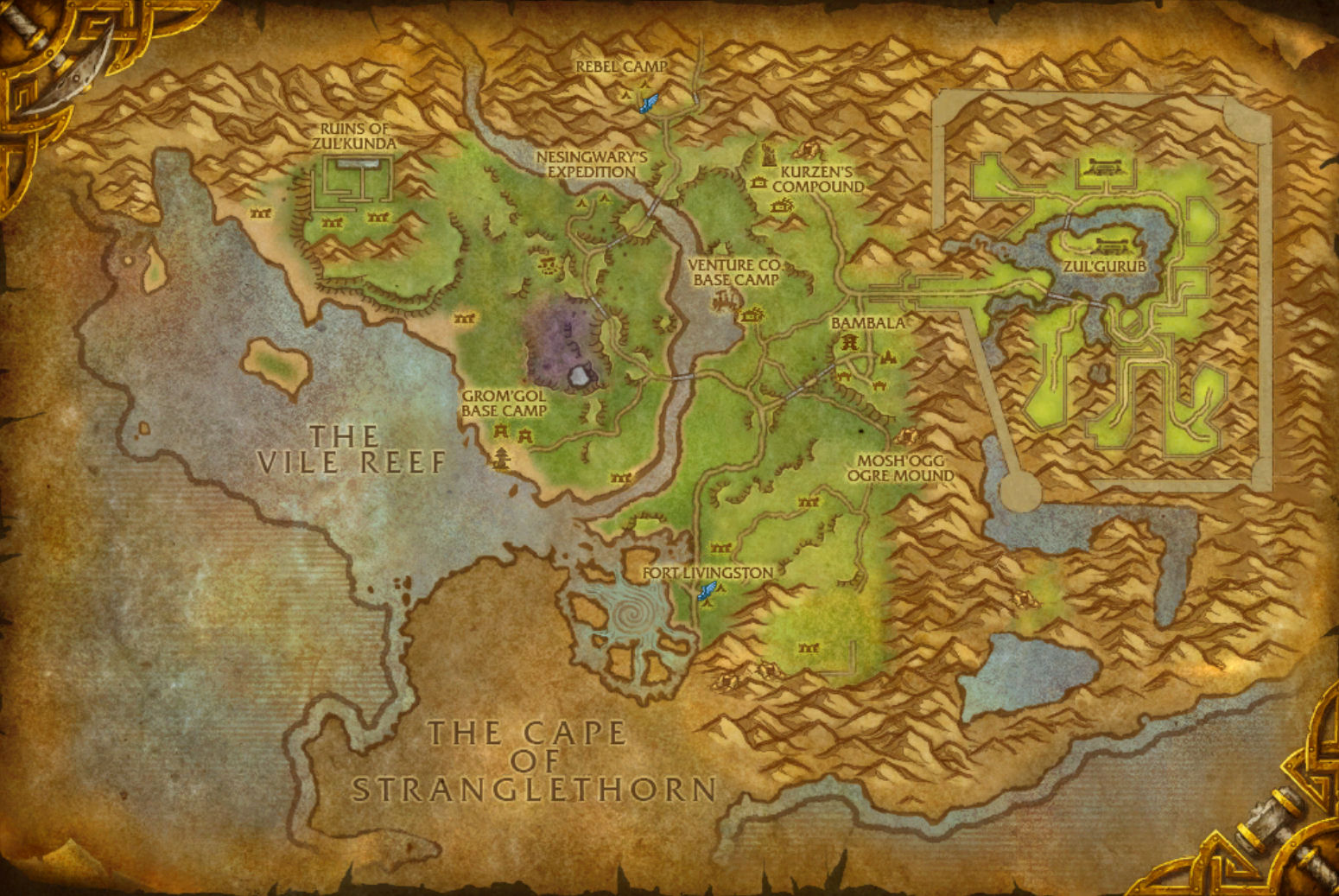 The Cape of Stranglethorn | The Ancient Gaming Noob
