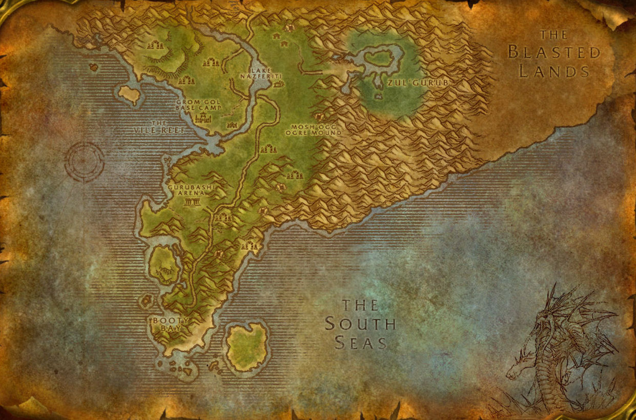 Stranglethorn Vale That Was