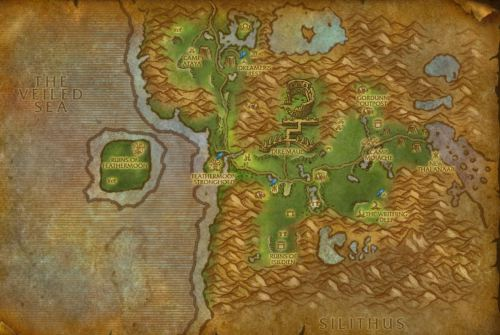 Feralas Map