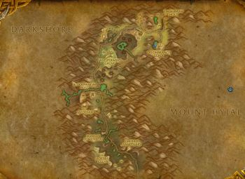 Felwood Map