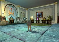 A room of altars in the guild hall
