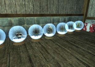 More snow globes