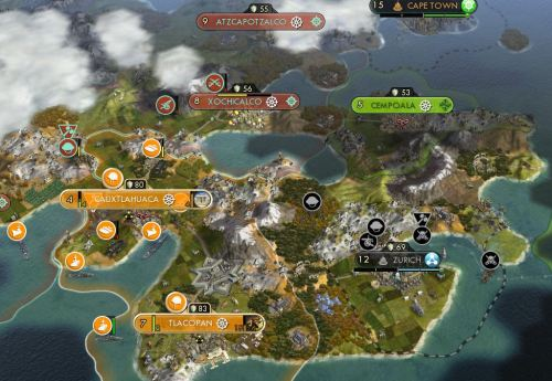 Lunge into Montezuma's territory