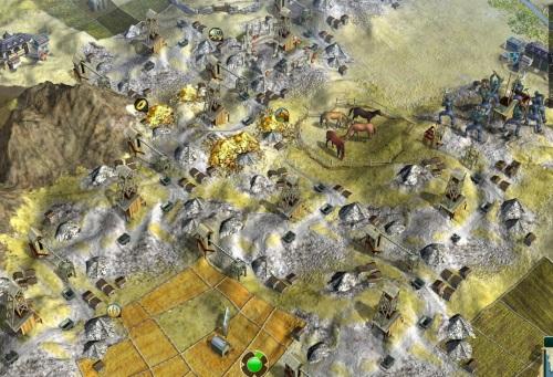 Mining blight in the golden hills