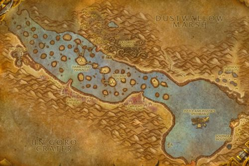 Thousand Needles Map