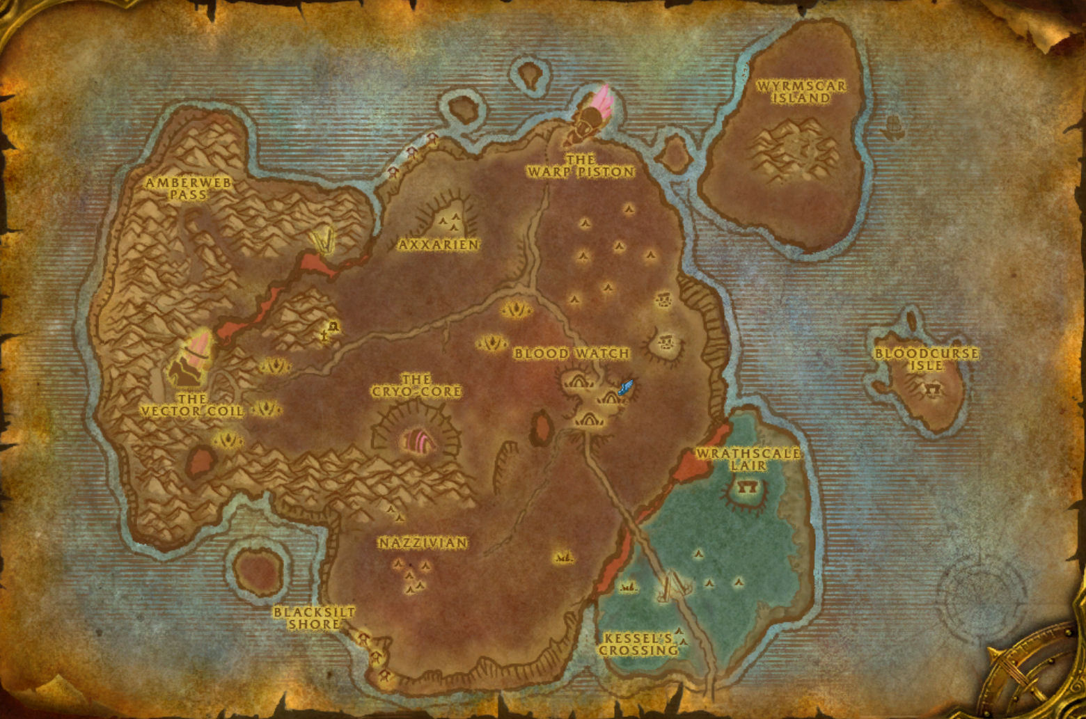 Bloodmyst isle the worst zone in wow the ancient gaming noob bloodmyst isle map gumiabroncs Gallery
