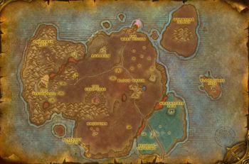 Bloodmyst Isle MAp