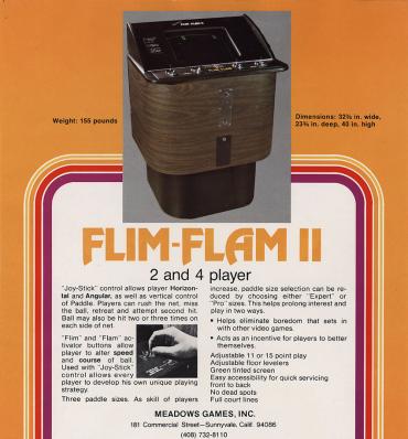 Flim-Flam almost as I remember it