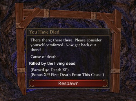 Death comes...