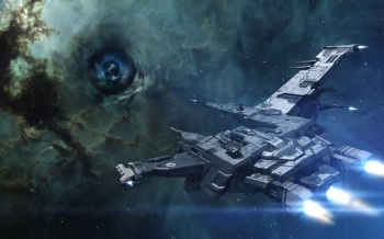 Hyperion Wormhole - Note ship not used...