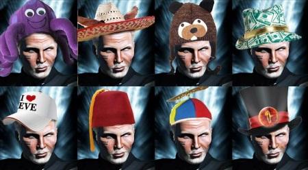 A selection of Rixx Javix hats