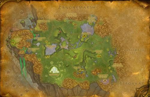 Nagrand Map
