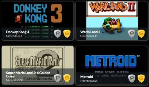 Gold Level 3DS Rewards