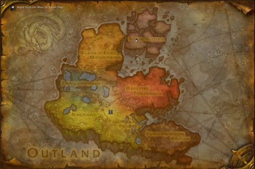 Outland Map