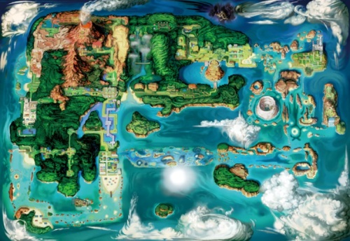 Hoenn region revamped
