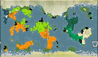 World Map - Turn 750