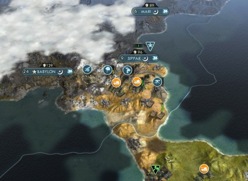Incursion into Babylonian territory
