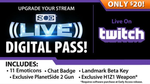 SOE on Twitch with Goodies