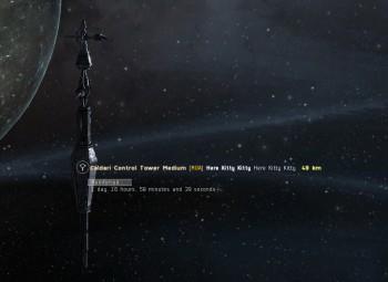 First tower timer set...