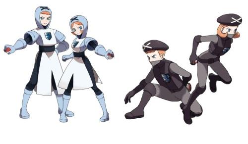 Team Plasma - Old vs. New