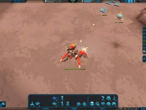 Chasing down a hostile commander