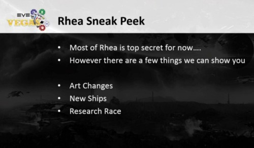 Quick look at Rhea