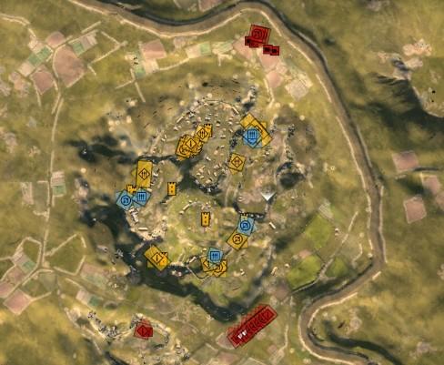 First Battle Layout