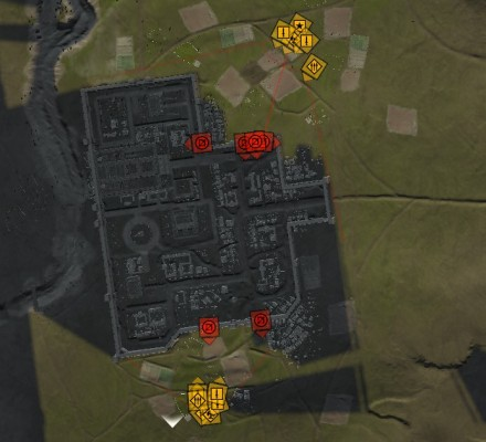 Two prong siege