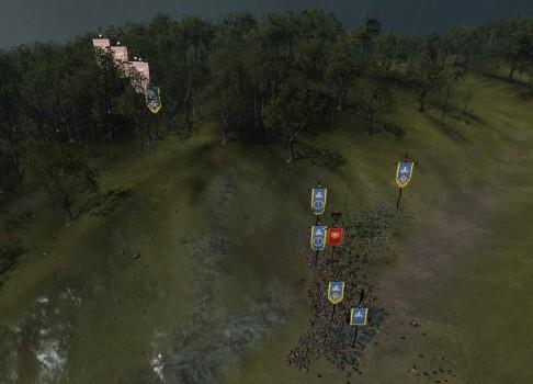 Ambushers running away