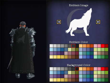 Shades of Twilight guild cloak