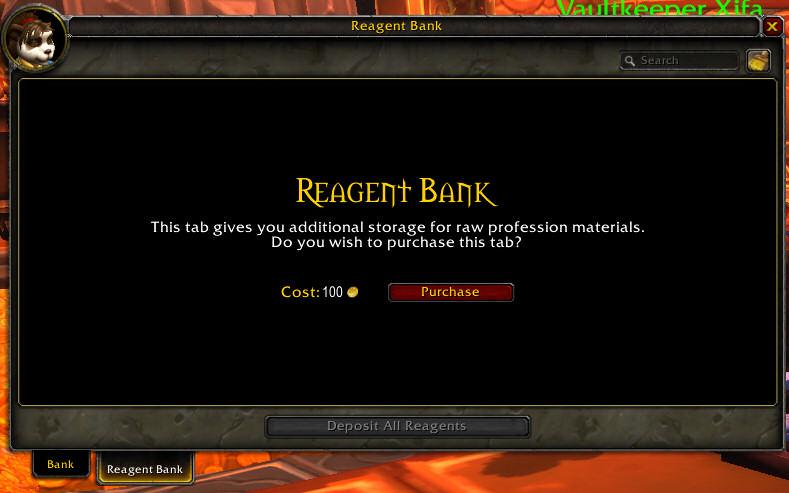 wow buy bank slots