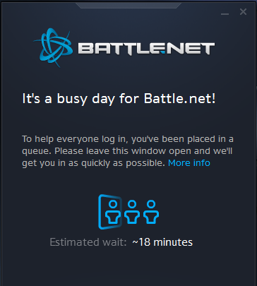 Battle.net queue