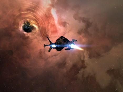 Landing on the wormhole