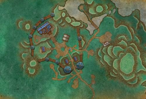 Level 2 Alliance garrison layout